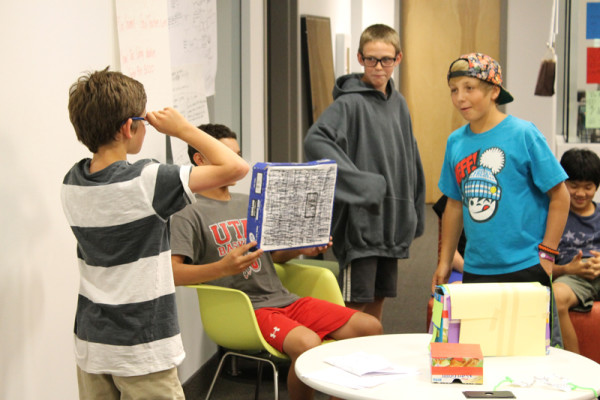 Students show off entrepreneurial skills at weeklong camp